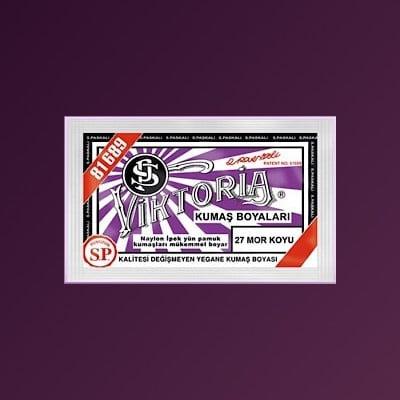 27 Aybel Fabric Dye Dark Purple